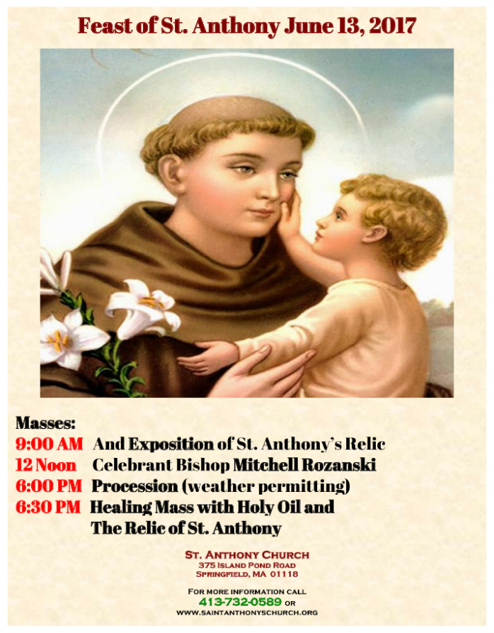 St. Anthony Flyer
