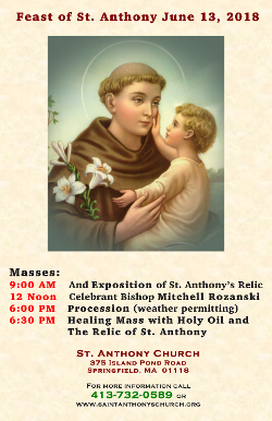Feast of St. Anthony, Flyer